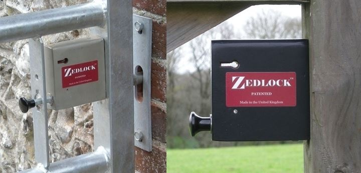 Zedlock Gate Locks for Five Bar and Field Gates